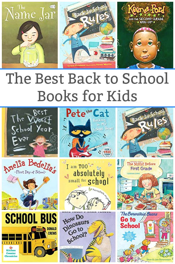 great back to school books for kids