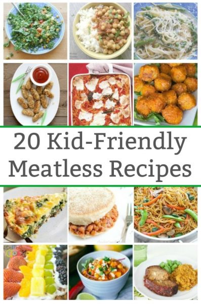 20 kid friendly meatless meals