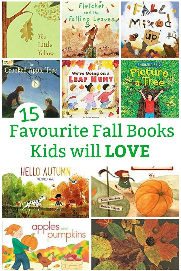 Favourite fall books for kids