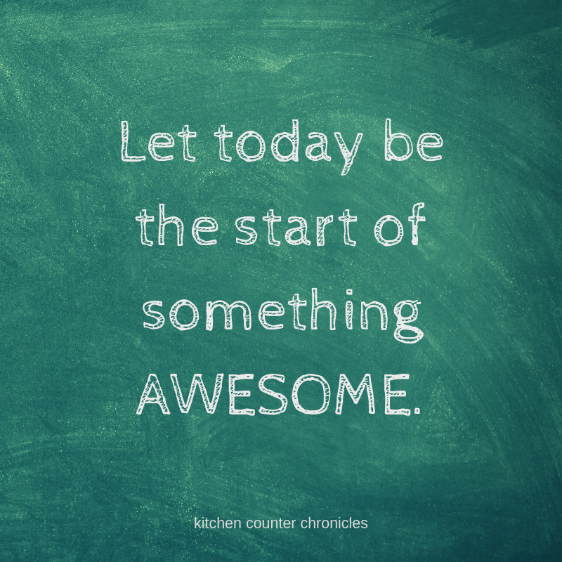 Back to School - Do Something Awesome