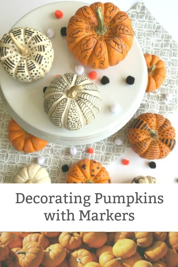 how to decorate pumpkins with markers new featured image
