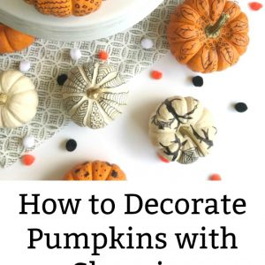 how to decorate pumpkins with sharpie markers