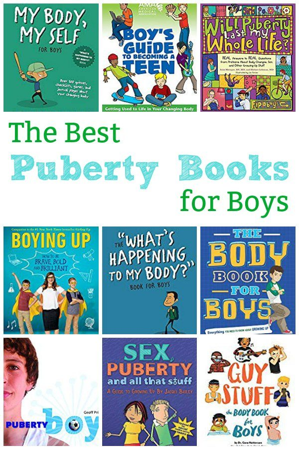 the best puberty books for boys