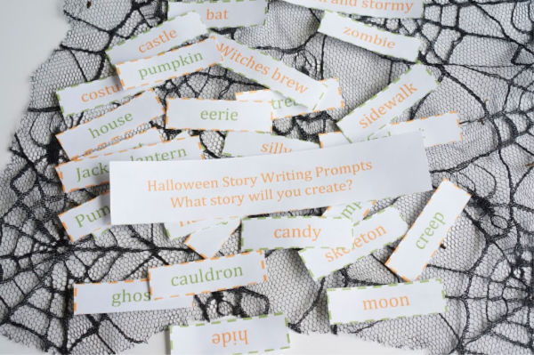Halloween story sight words
