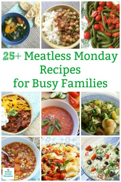 Meatless Monday recipes for families