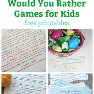 would you rather games for kids