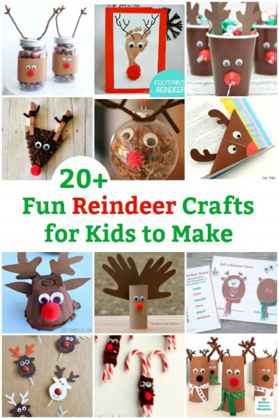 fun reindeer craft for kids to make