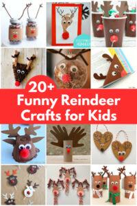 funny reindeer crafts for kids to make collage of reindeer crafts for kids