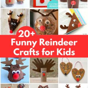 reindeer crafts for kids to make collage of reindeer crafts