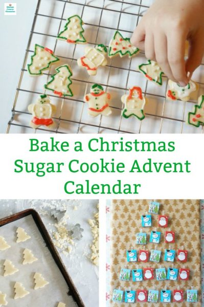 how to bake a sugar cookie advent calendar countdown