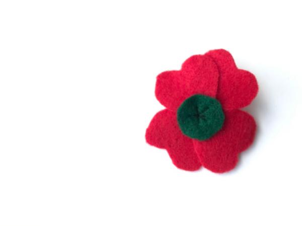 veterans day poppy pin done