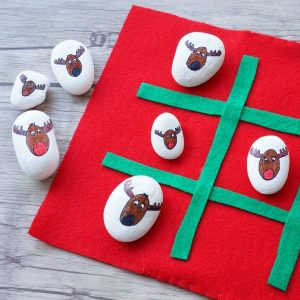 rudolph tic tac toe game
