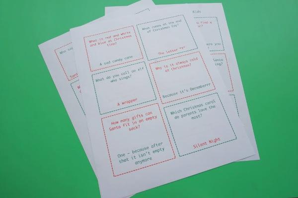 printable santa jokes for kids