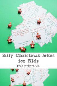 silly printable christmas jokes for kids