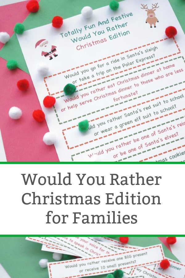 would you rather christmas edition featured image