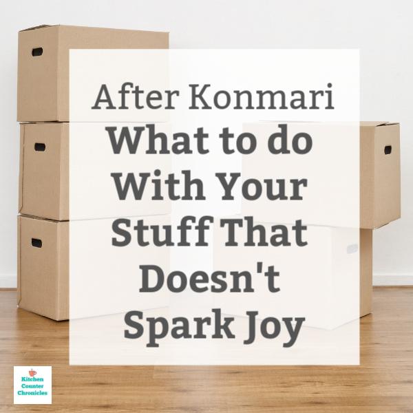 konmari doesn't spark joy social