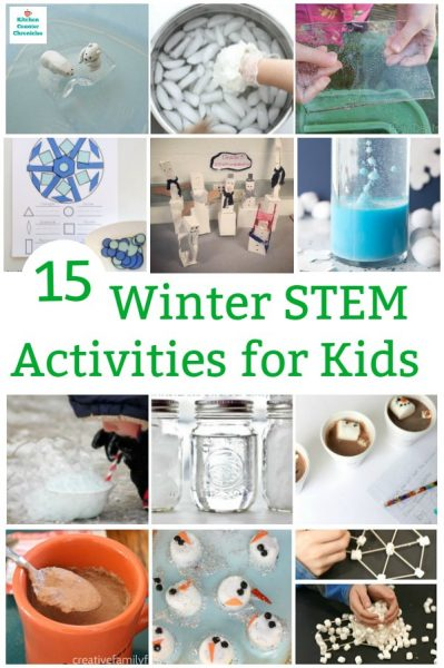 winter stem activities for kids of all ages