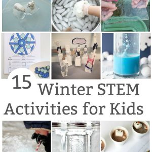 winter stem activities for kids