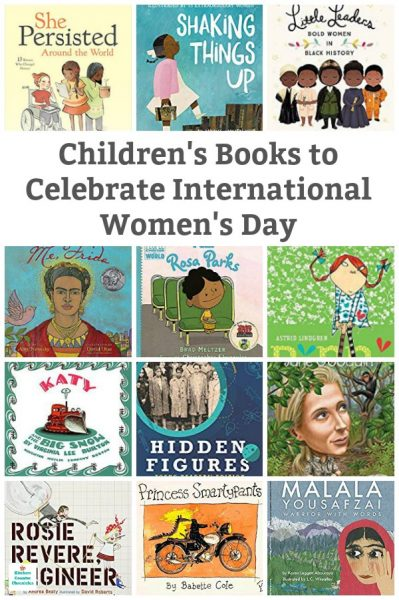 children's books to celebrate International Women's Day