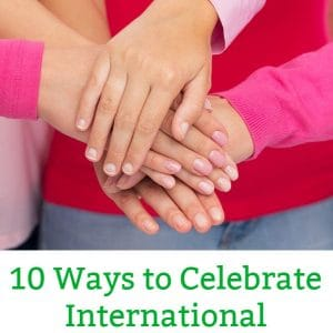 International Women's Day kids activities
