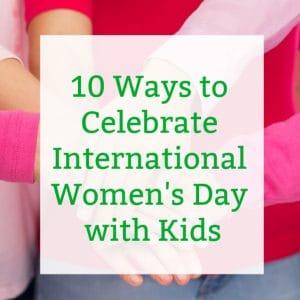 international womens day for kids social