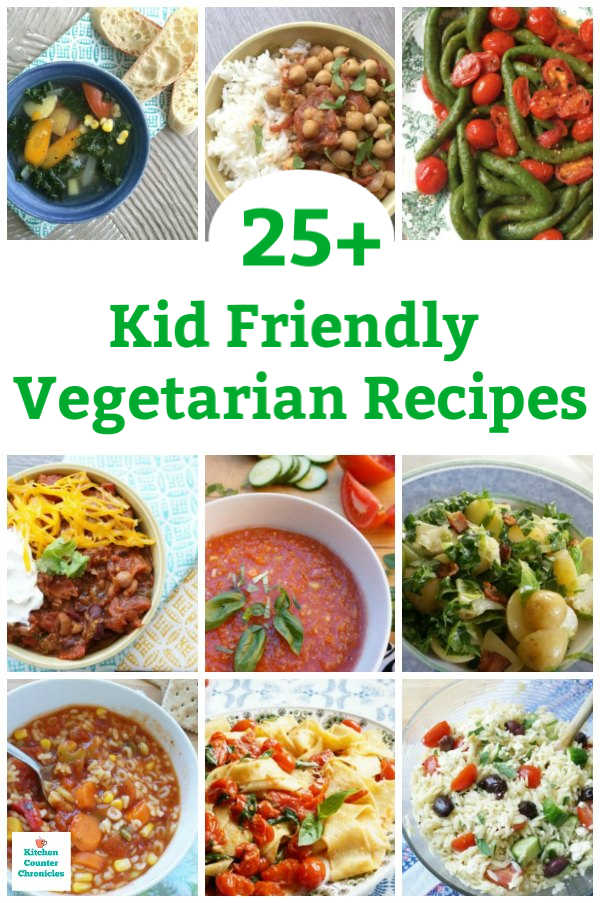 kid friendly vegetarian recipes for kids