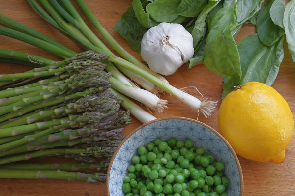 spring pasta primavera ingredients