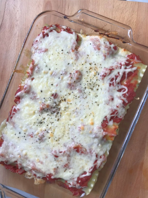vegetarian recipe for kids the lasagna rolls baked with crispy cheesy top