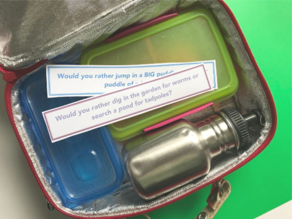 would you rather questions in lunch box
