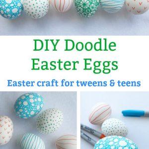 easter craft for tweens doodle egg
