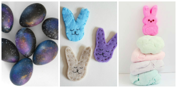 easter crafts for teens galaxy eggs