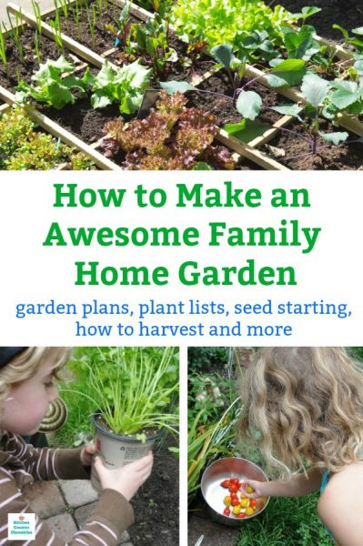 how to make a garden at home with kids