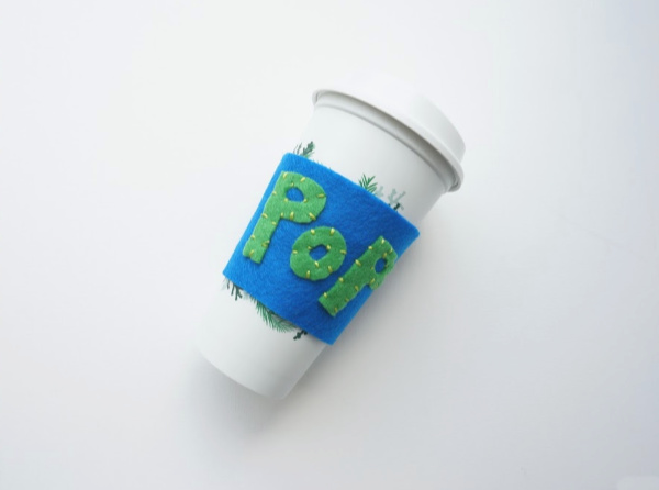 father's day craft for tweens diy cup sleeve