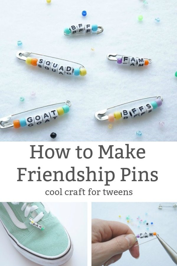 how to make friendship pin a cool craft for tweens