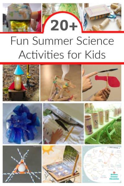 summer science activities for kids