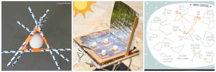 summer science for kids solar oven