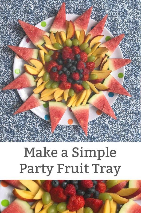 creative fruit tray design summer sun shape featured image