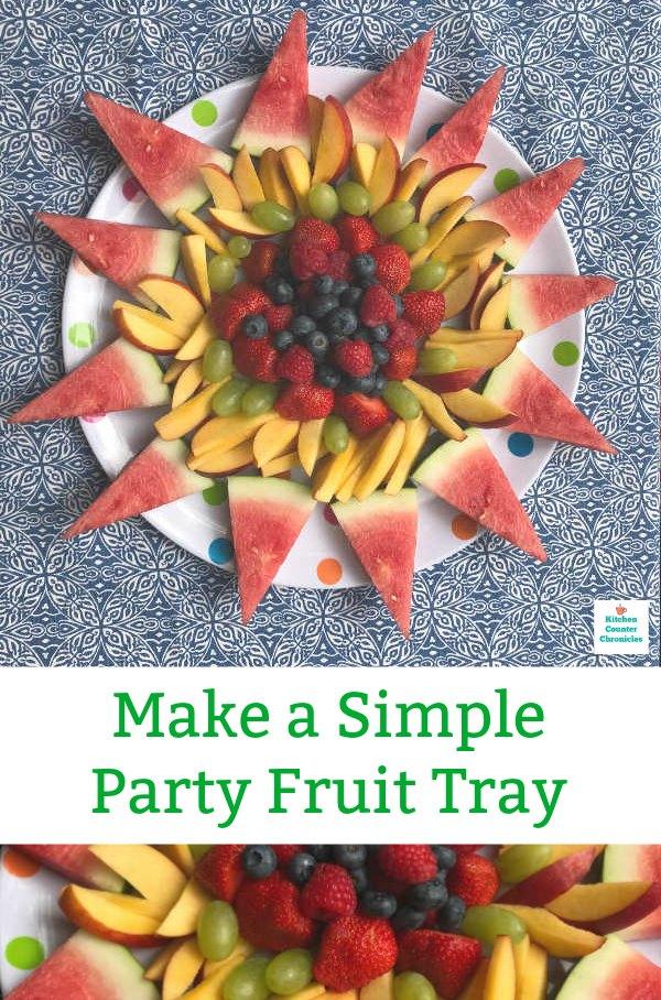 creative fruit platter design pin