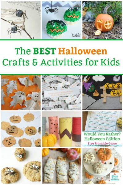 halloween crafts for kids and halloween activities for kids