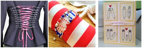 safety pin crafts to make