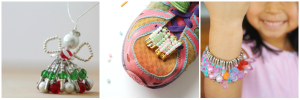 safety pin crafts for tweens to make