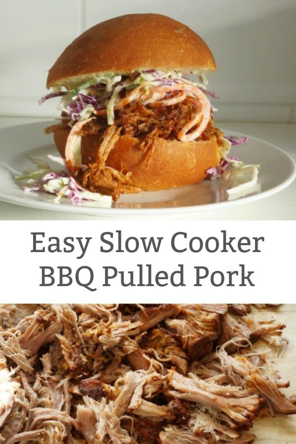slow cooker pulled pork featured image