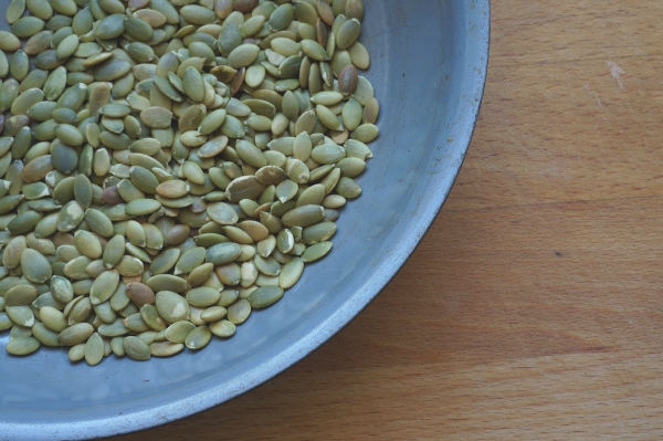 toasted pumpkin seeds