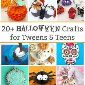 20 halloween crafts for tweens and teens