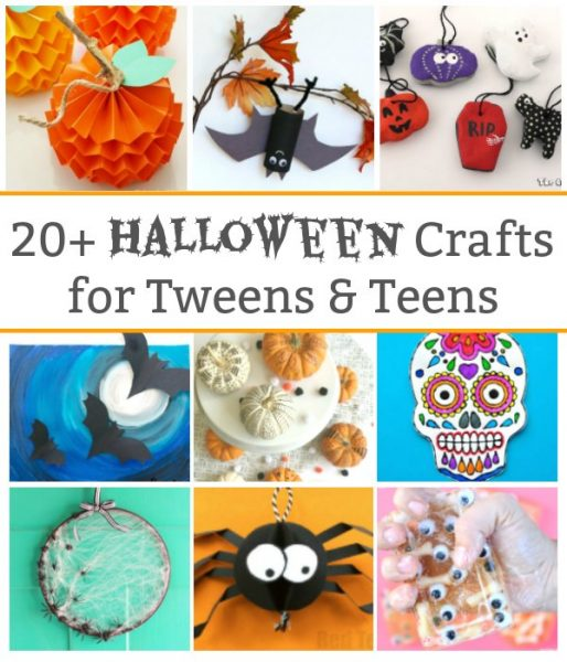 20 halloween crafts for tweens and teens