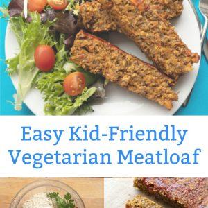 easy kid friendly vegetarian meatloaf lentil loaf recipe