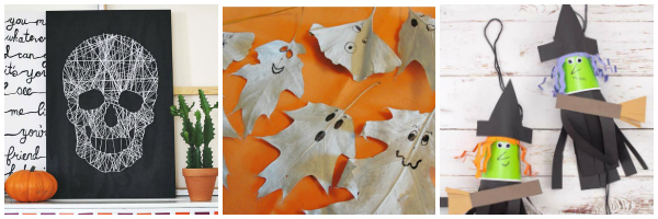 halloween crafts for tweens and teens collage 2