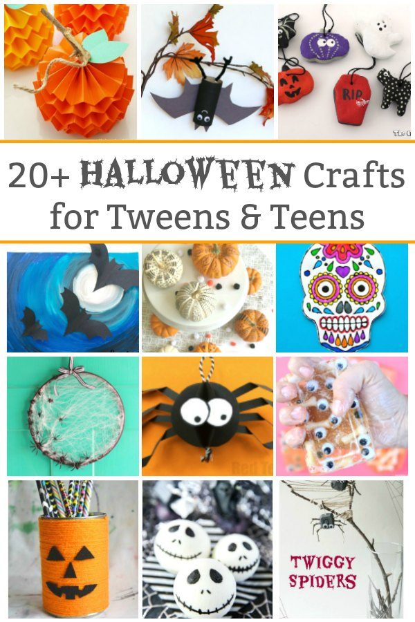 halloween crafts for tweens and teens