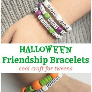 halloween friendship bracelet halloween crafts for tweens