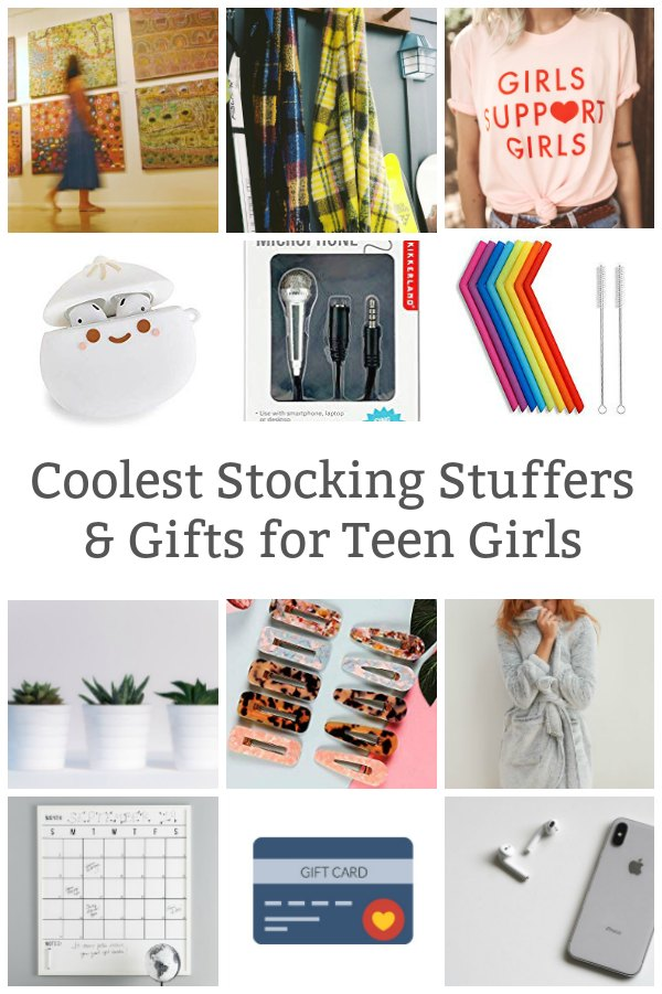 cool stocking stuffers and gifts for teen girls